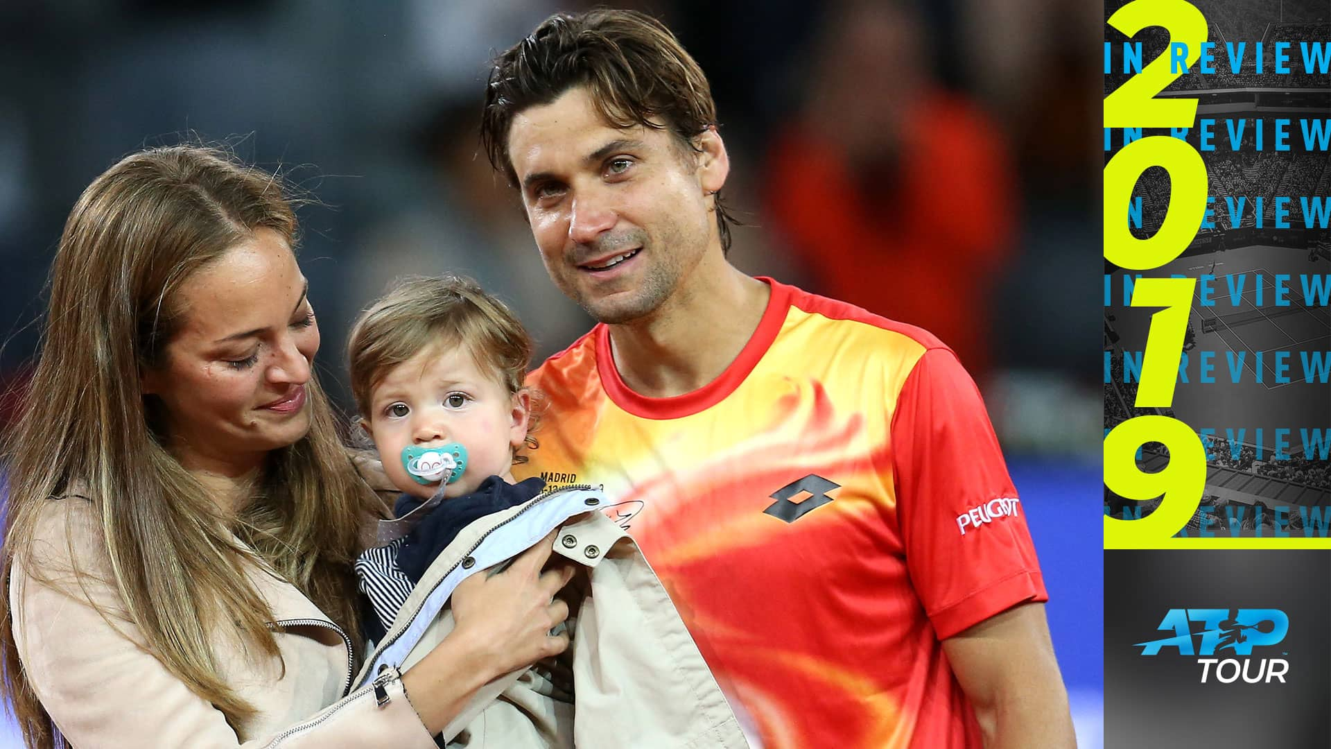 Ferrer and family