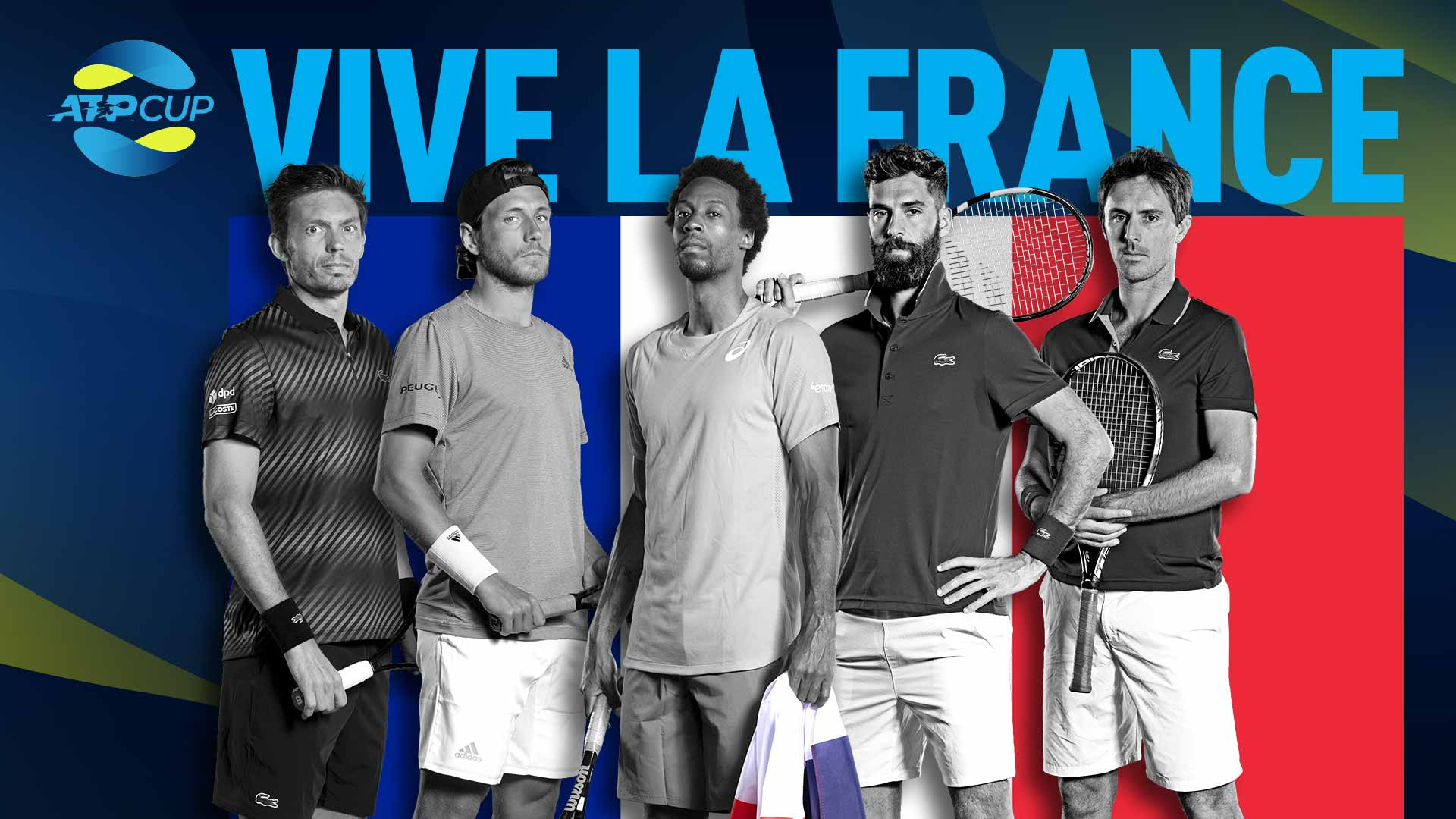 Team France 2020 ATP Cup