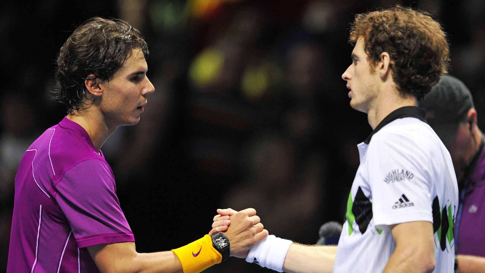 Nadal Murray rivalries