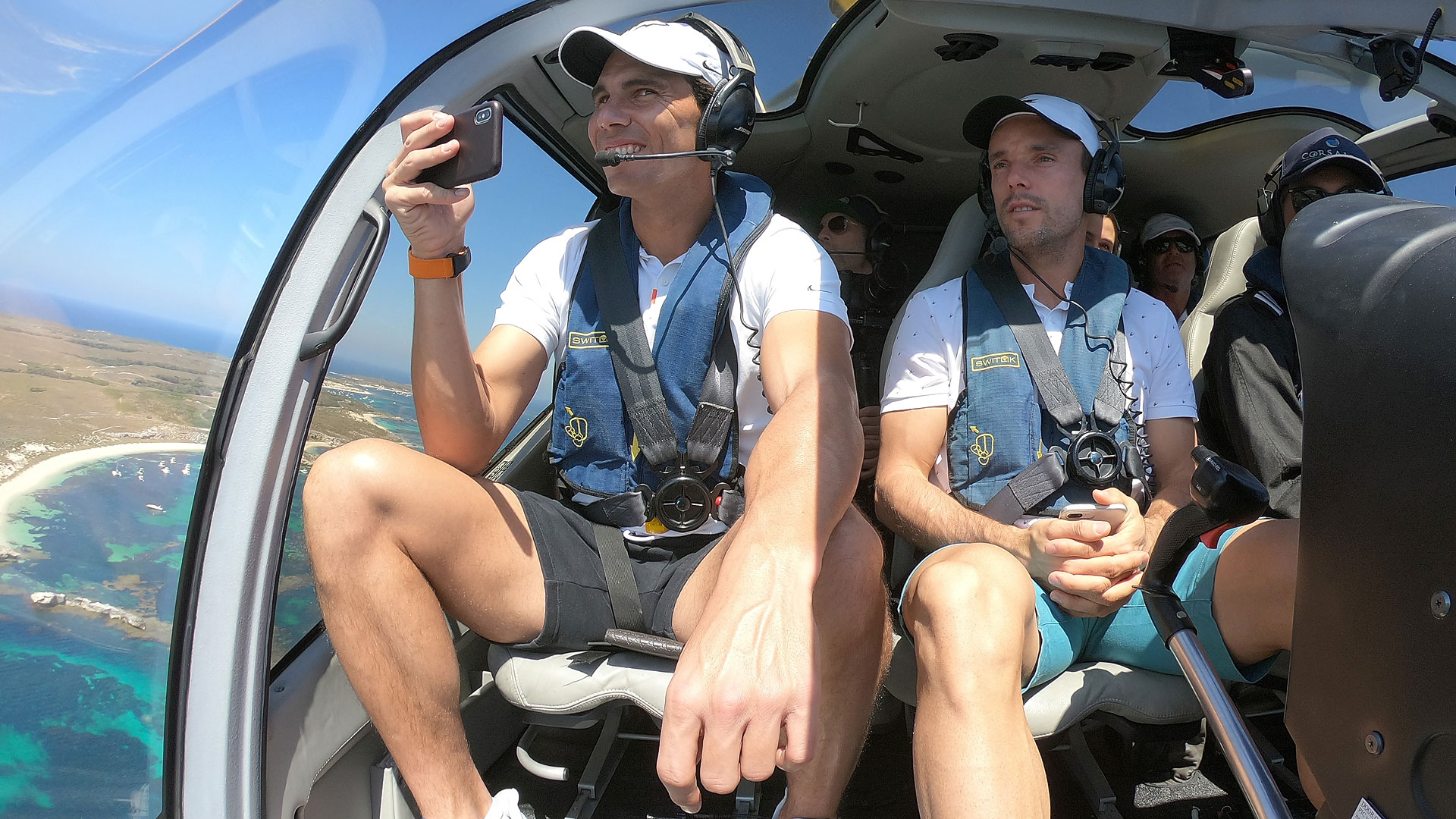 Nadal, Bautista Agut en route to Rottnest Island
