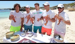 Spain ATP Cup 2020 Wednesday Beach Cooking