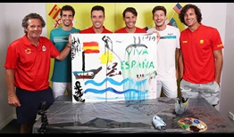 Spain ATP Cup 2020 Media Day Art