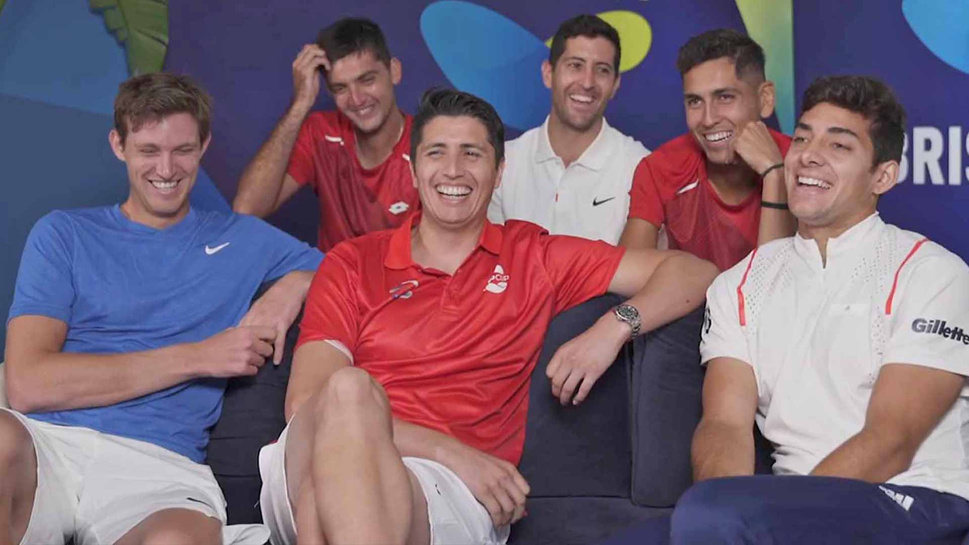 Team Chile relishes the opportunity to play at the ATP Cup in Brisbane.