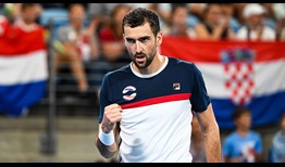 Cilic ATP Cup 2020 Flags Day 4
