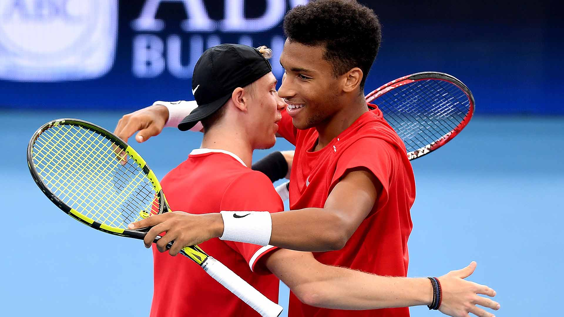 Denis Shapovalov/Felix Auger-Aliassime improve Canada to 2-1 on Tuesday at the ATP Cup in Brisbane.
