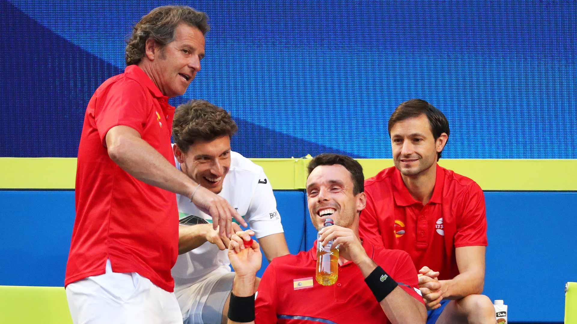 ATP Cup. Испания - Япония 3:0. Группа В. Третий раунд
