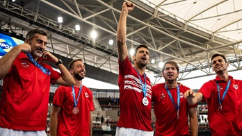 Novak Djokovic and Team Serbia on Wednesday receive their medals as Group A champions at the ATP Cup in Brisbane.
