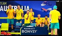 Australia Team Zone ATP Cup 2020 Day 7