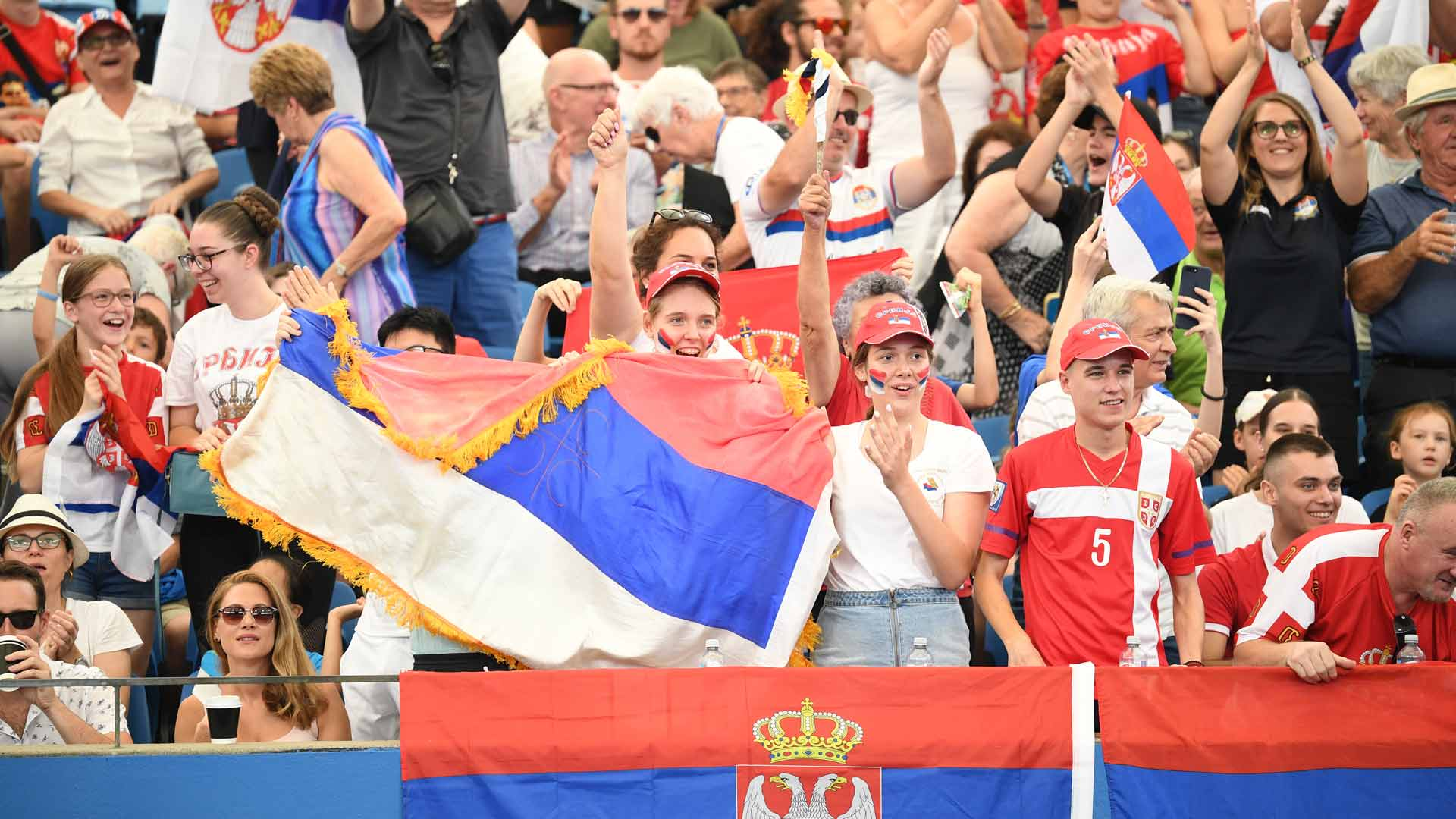 Serbian Crowd