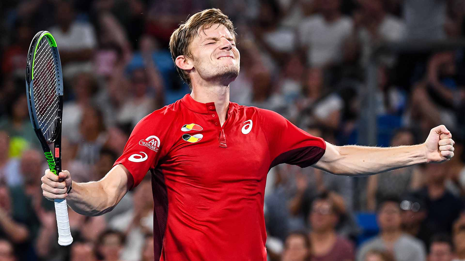 David Goffin records his second ATP Head2Head win in six matches against Rafael Nadal.