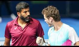 Bopanna Koolhof Doha 2020 Friday