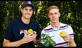 John Isner and Denis Shapovalov are among the top four seeds at the ASB Classic.