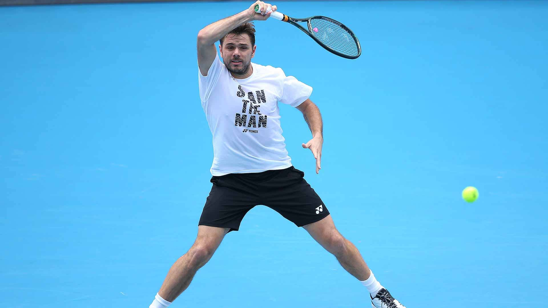 Stan Wawrinka is going for his second Australian Open title this fortnight.
