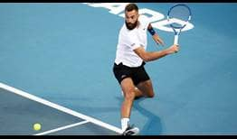 Benoit Paire levels his FedEx ATP Head2Head series against Hubert Hurkacz at 1-1.