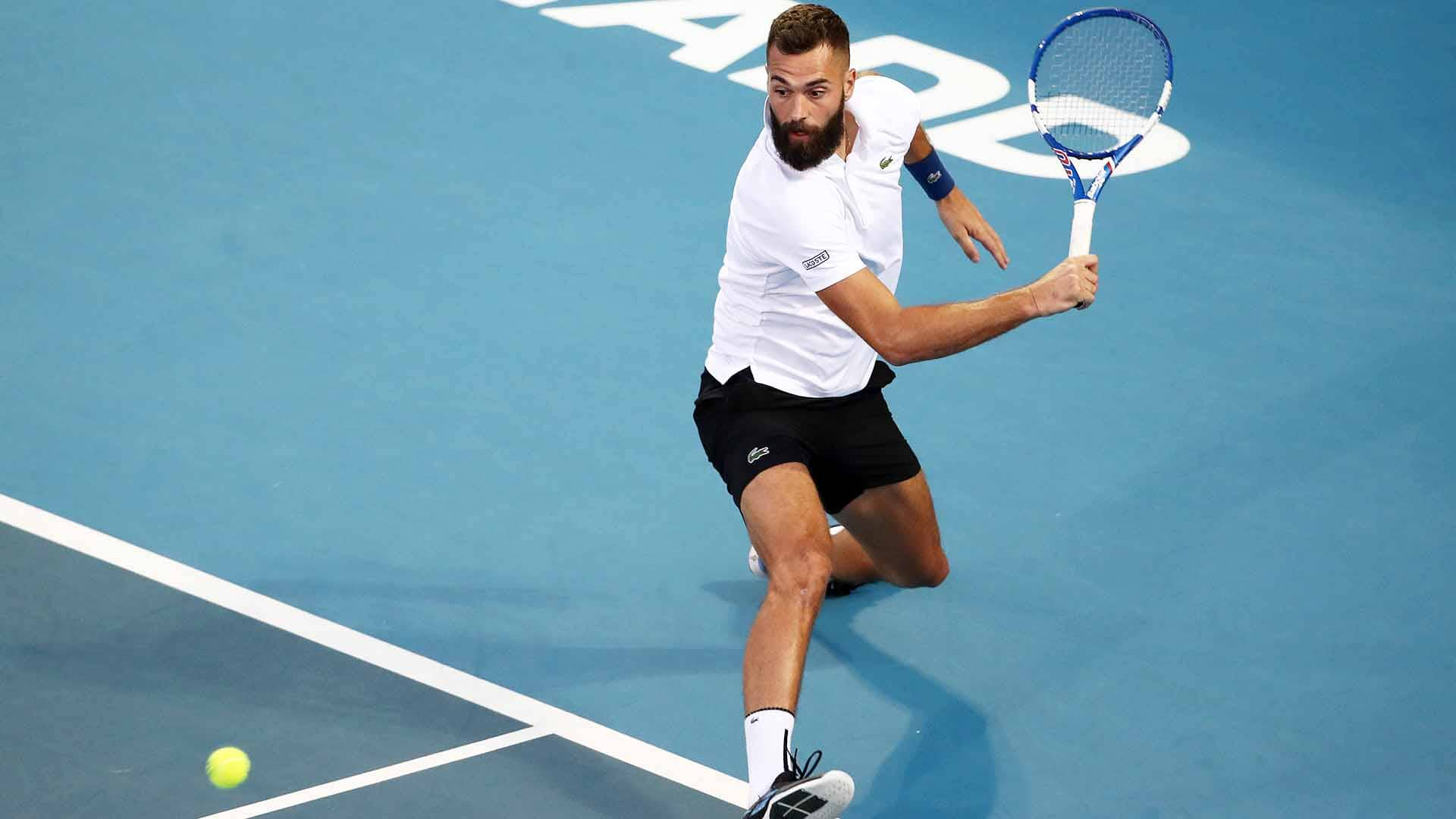 Benoit Paire is through to his ninth ATP Tour championship match.