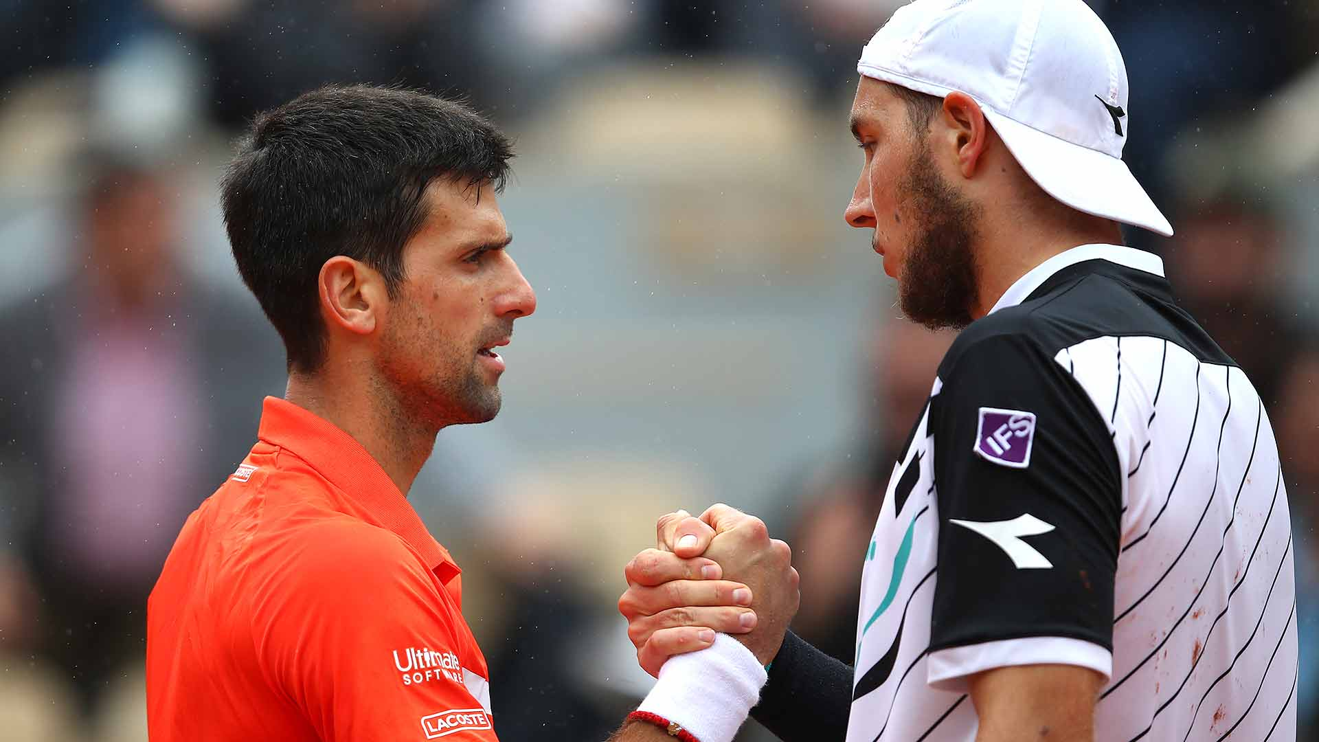 Novak Djokovic and Jan-Lennard Struff will meet for the third time on Monday night at the Australian Open.