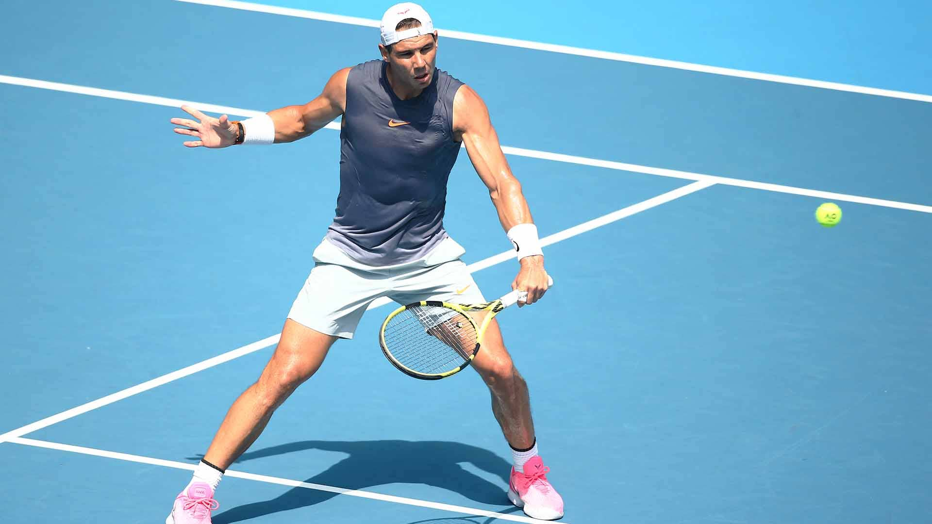 <a href='https://www.atptour.com/en/players/rafael-nadal/n409/overview'>Rafael Nadal</a> has reached five <a href='https://www.atptour.com/en/tournaments/australian-open/580/overview'>Australian Open</a> finals.
