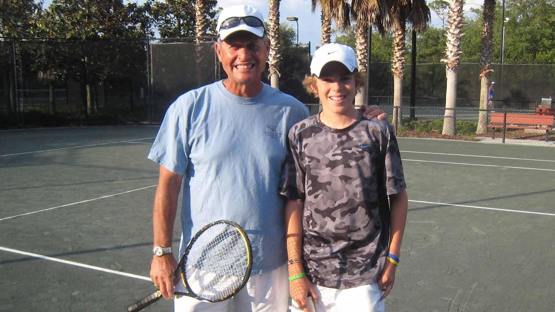 <a href='/en/players/tom-gullikson/g049/overview'>Tom Gullikson</a> has been instrumental in <a href='/en/players/reilly-opelka/o522/overview'>Reilly Opelka</a>'s career.