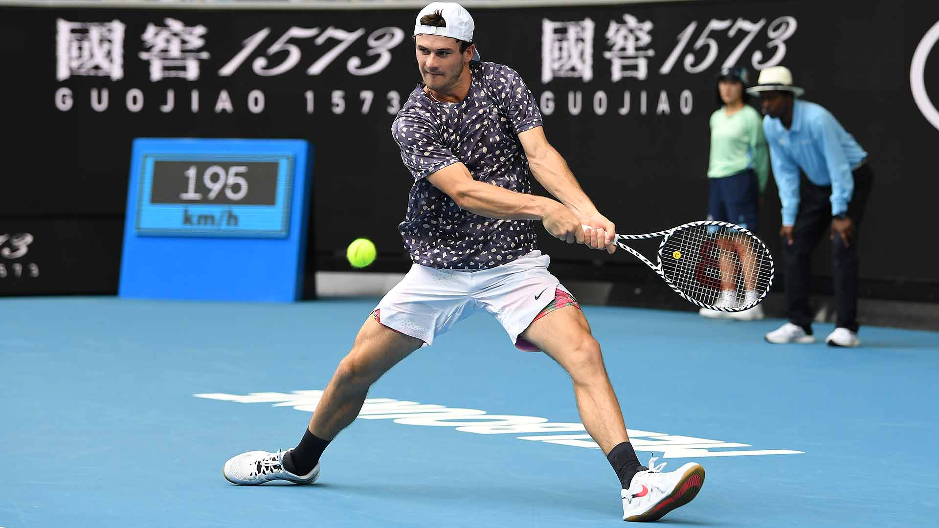 American <a href='/en/players/tommy-paul/pl56/overview'>Tommy Paul</a> reaches the third round of a Grand Slam for the first time on Wednesday at the <a href='/en/tournaments/australian-open/580/overview'>Australian Open</a>.