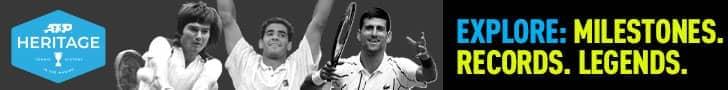 ATP Heritage: Milestones. Records. Legends.