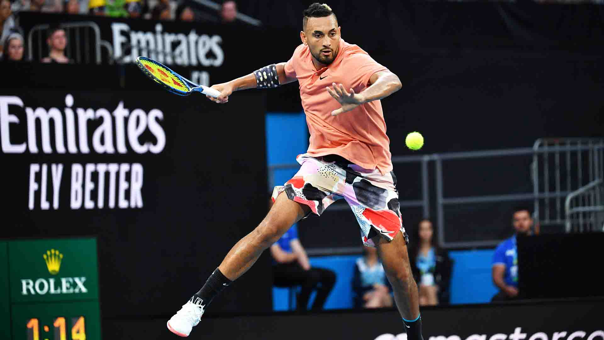 Nick Kyrgios owns a 3-0 tie-break record at this year's Australian Open.