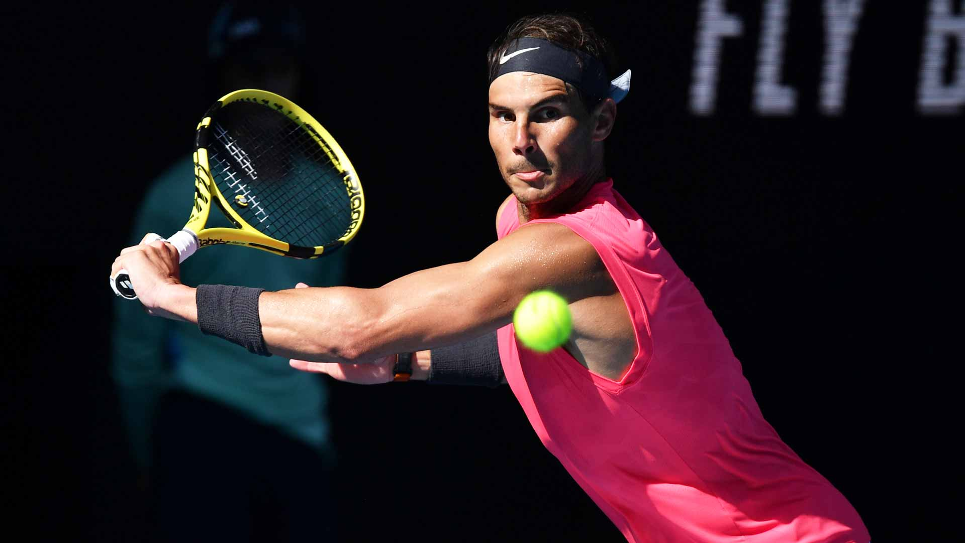Nadal Australian Open 2020 Backhand