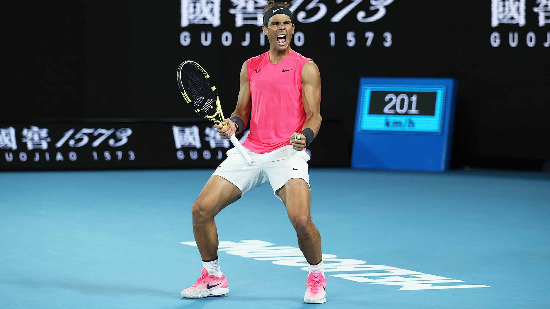 Rafael Nadal is the top seed at the Australian Open.