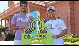 Second seed Guido Pella and top seed Diego Schwartzman lead the way this week in Cordoba, where they'll play in front of their home fans.