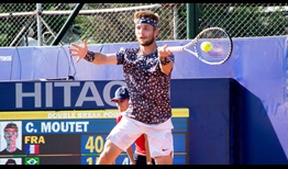 Corentin Moutet improves to 5-2 this season with his first-round win at the Cordoba Open.