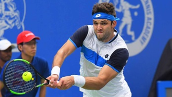 Jiri Vesely is aiming to beat Ricardas Berankis for the first time.