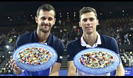Pavic Cacic Montpellier 2020 Final Trophies