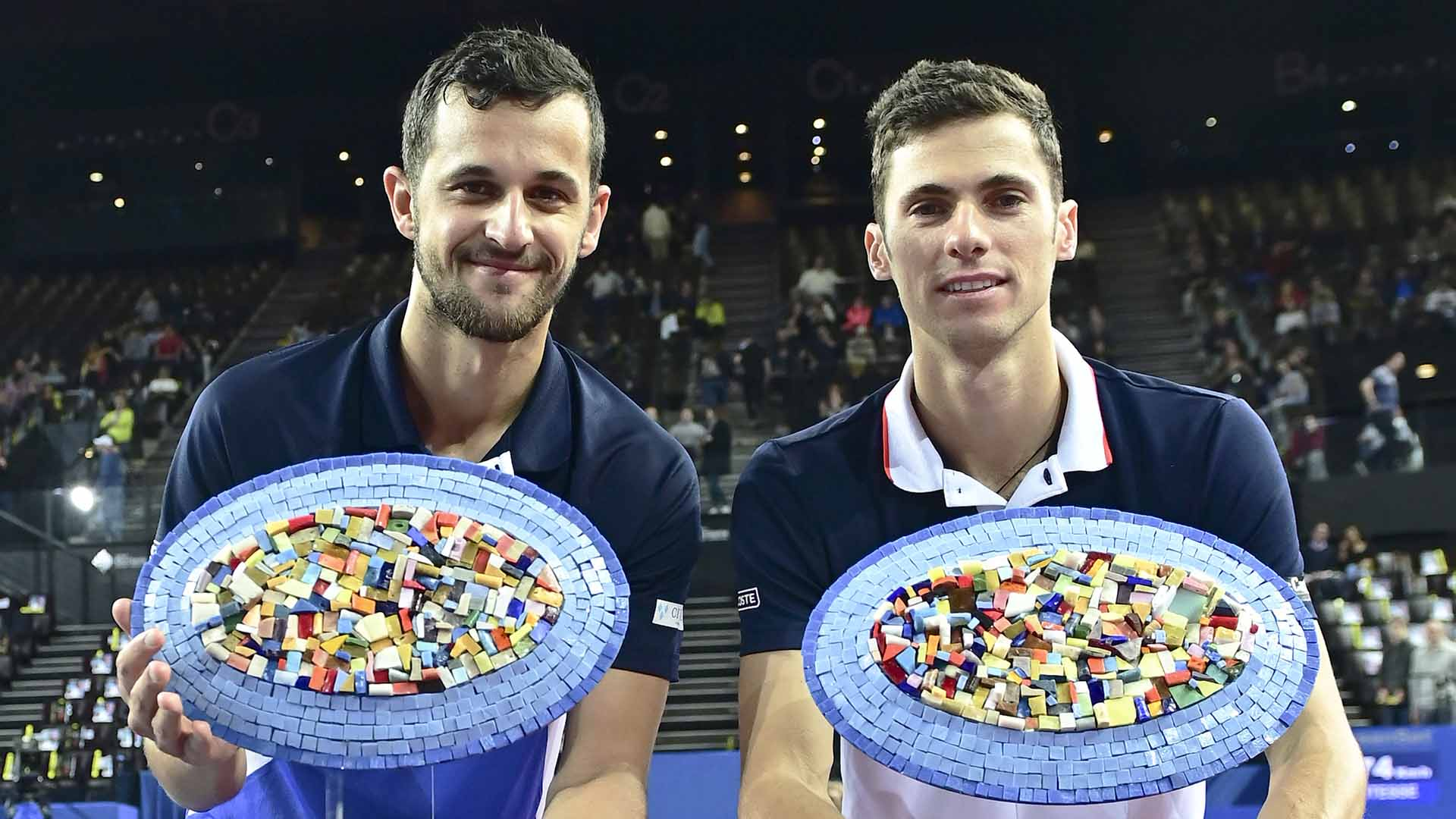 Mate Pavic and Nikola Cacic were appearing for the first time as a team at the Open Sud de France.