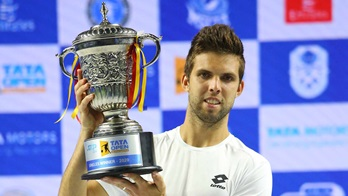 Jiri Vesely owns a 2-1 record in ATP Tour finals.