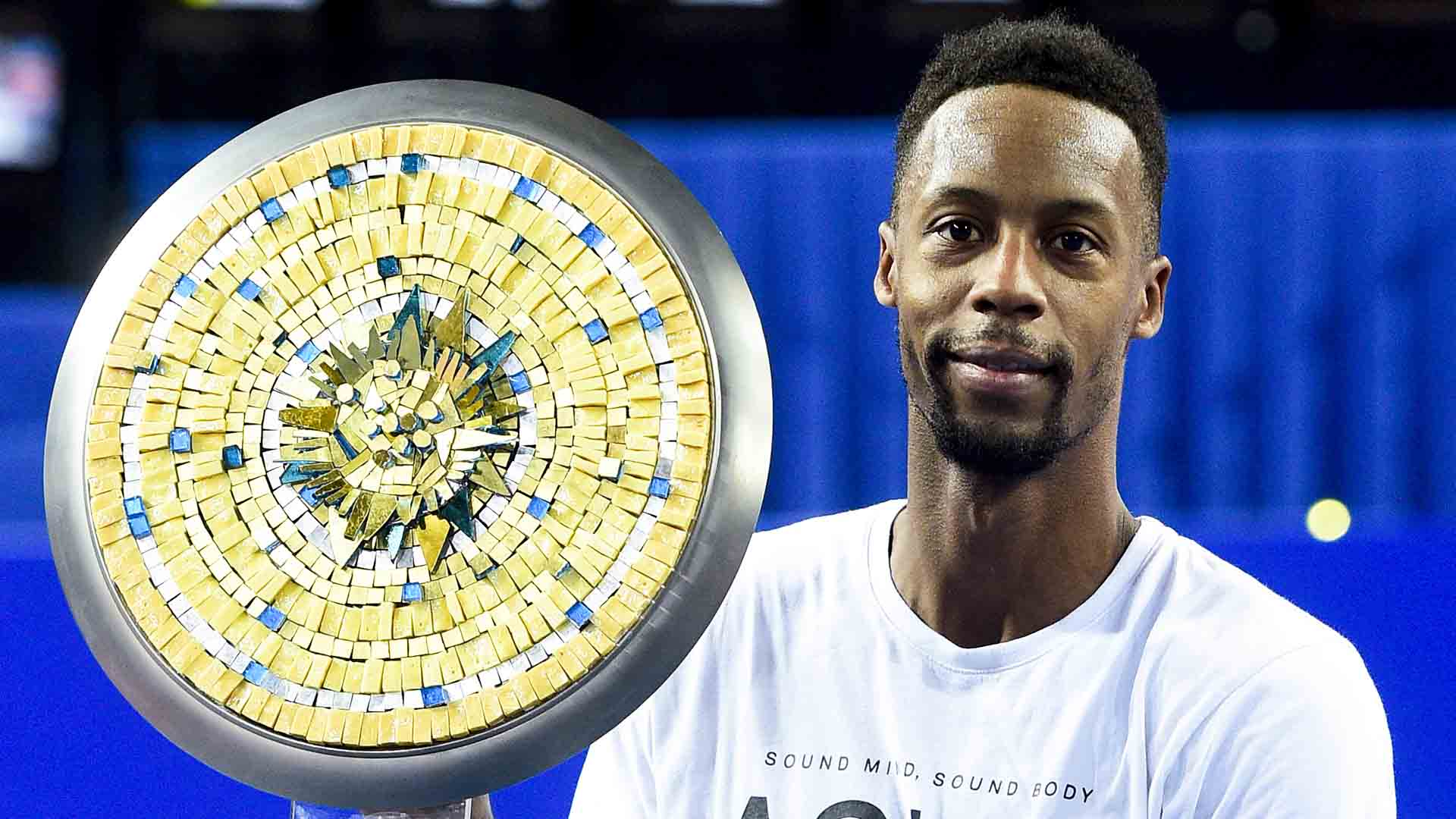 Gael Monfils has won four of his nine ATP Tour titles in France.