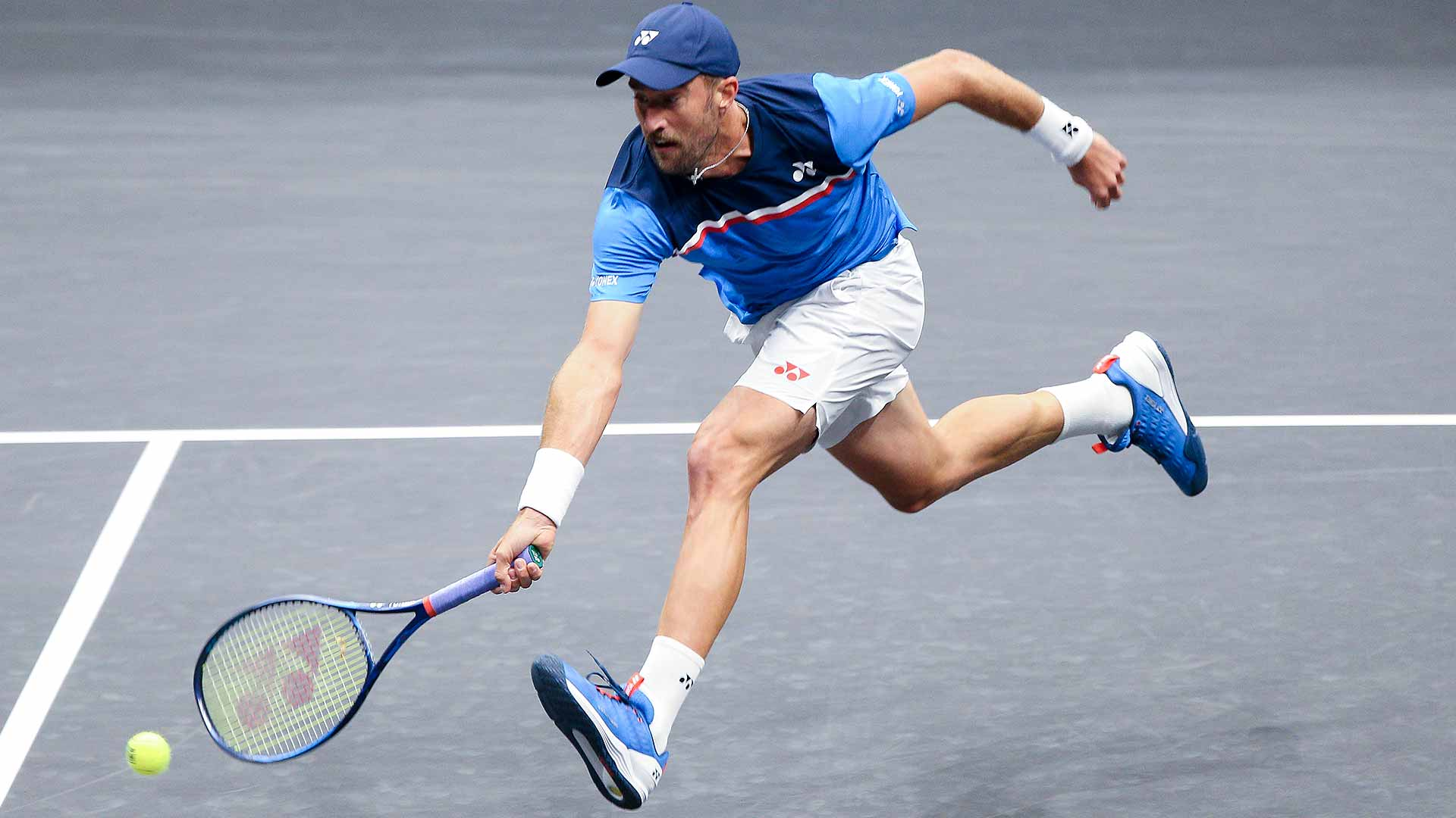 Steve Johnson improves to 2-0 against Tennys Sandgren on Monday at the New York Open.
