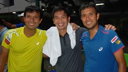 Christopher Rungkat travelled with the Ratiwatana brothers from the age of 17.