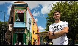 Borna Coric enjoys a tour of Buenos Aires ahead of the Argentina Open.