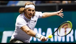 Tsitsipas Rotterdam 2020 Tuesday Backhand
