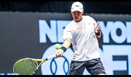 Jason Jung has scored three of his five ATP Tour main draw wins at the New York Open.