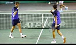 Nicolas Mahut and Pierre-Hugues Herbert are chasing their second ABN AMRO World Tennis Tournament title as a team.