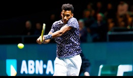 Felix Auger-Aliassime improves to 2-0 in his ATP Head2Head series with Grigor Dimitrov.