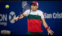 Dusan Lajovic defeats Pedro Martinez in his first clay-court match of 2020 in Buenos Aires.