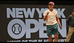 Soonwoo Kwon defeats Milos Raonic for his second ATP Tour quarter-final of the year at the New York Open.