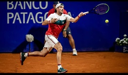 Guido Pella opens his week at the Argentina Open with a win over Facundo Bagnis.