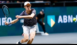 Wild card Jannik Sinner could not convert two match points at 6/4 in the deciding set tie-break against Pablo Carreno Busta on Friday in Rotterdam.