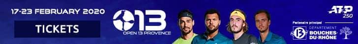 Get tickets for <a href='https://www.atptour.com/en/tournaments/marseille/496/overview'>Open 13 Provence</a>, an ATP 250 tennis tournament in Marseille, France