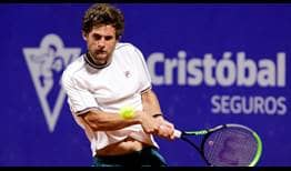 Pedro Sousa is through to his first ATP Tour final at the Argentina Open in Buenos Aires.