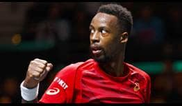 Gael Monfils is aiming to win his 10th ATP Tour title at the ABN AMRO World Tennis Tournament.