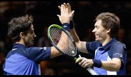 Pierre-Hugues Herbert and Nicolas Mahut own 16 tour-level titles as a team.