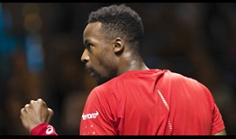Gael Monfils has lifted seven of his 10 ATP Tour trophies on indoor hard courts.